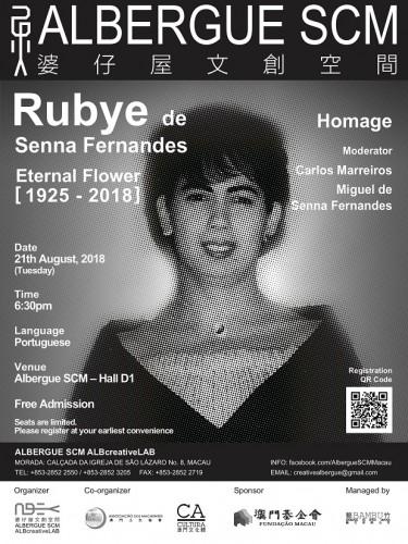"""Eternal Flower – Rubye de Senna Fernandes"" / Data Image Source: ALBERGUE SCM /ALBcreative..."