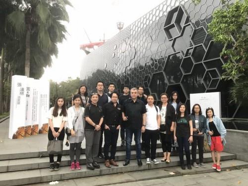 """Design and Art Field Trip 2017-Shenzhen / Data Image Source: ALBERGUE SCM / ALBcreativeLAB / M..."